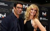 Sara Prata e João Catarré: eles já não conseguem disfarçar o clima de romance
