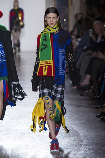 Versace, Milan Fashion Week, Scottish chic