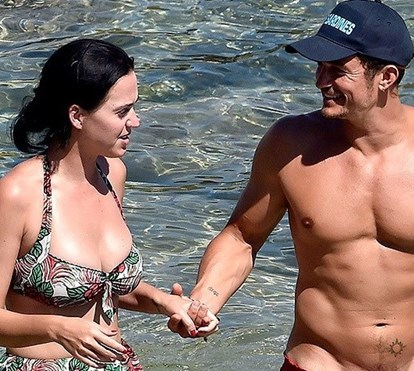 Katy Perry e Orlando Bloom separados