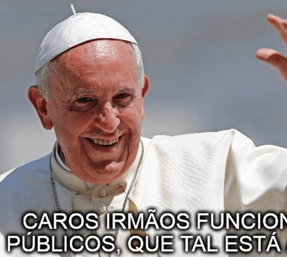 Os 'memes' mais divertidos do Papa Francisco
