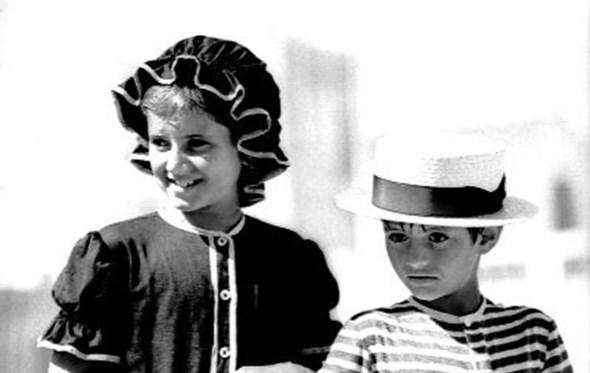 Teresa Felix and young Jose Mourinho