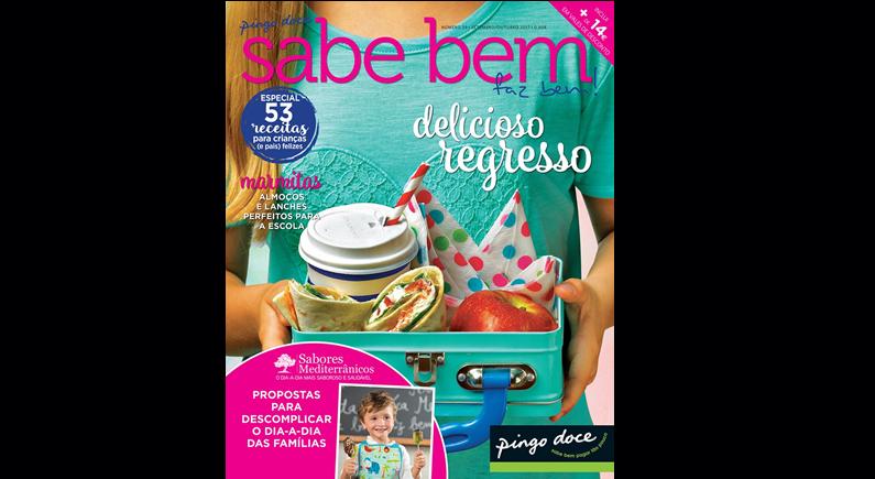 Não perca! 53 receitas práticas para crianças nesta edição da revista Sabe Bem
