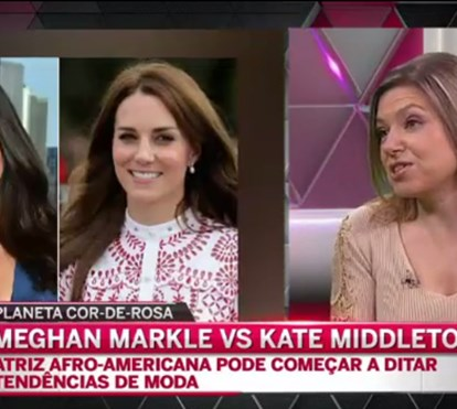Meghan Markle vs. Kate Middleton no Planeta Cor-de-Rosa