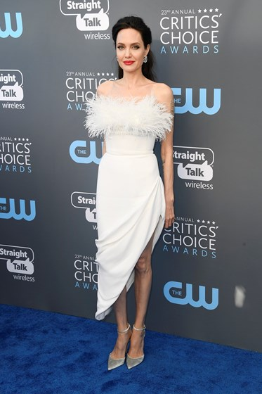 Os vestidos mais elegantes dos Critics' Choice Awards 2018
