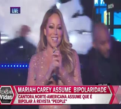 Mariah Carey assume ser bipolar