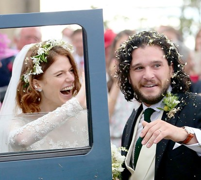 As fotos mais amorosas do casamento de Jon Snow e Ygritte, na vida real
