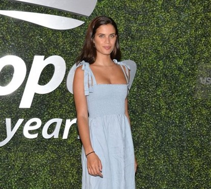 O romantismo de Sara Sampaio no US Open