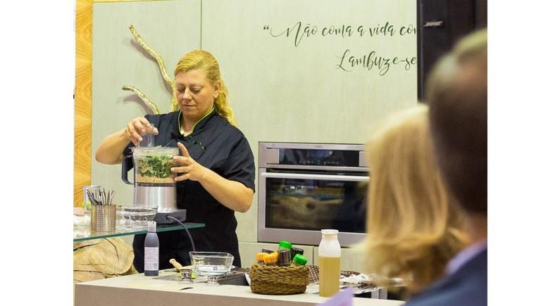 A chef Cátia Goarmon vai ensinar truques de cozinha aos visitantes