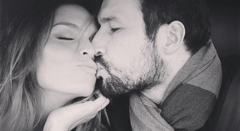 É muito amor! As imagens mais românticas de Diana Chaves e César Peixoto