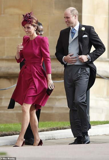 Os looks mais elegantes do casamento da princesa Eugenie