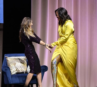 As extravagantes botas altas de Michelle Obama