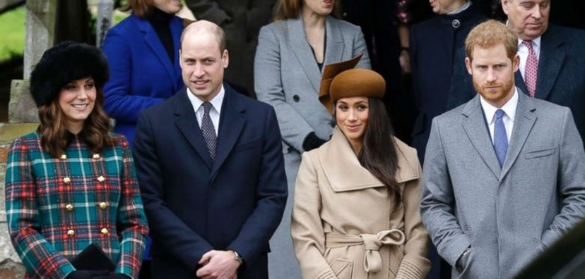 William e Kate, Meghan e Harry