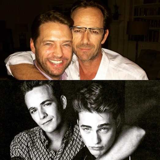Luke Perry, Amigos