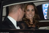 william, kate, Royal Variety Performance