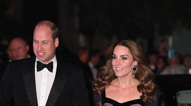 Kate e William são o centro das atenções na Royal Variety Performance