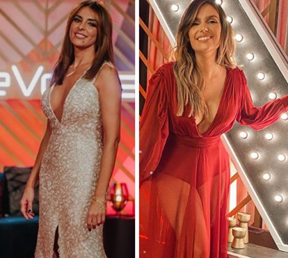 Que abuso sexy! Catarina Furtado e Mafalda Castro abusam nos decotes na final do 'The Voice'