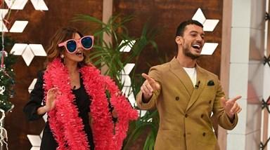 A festa no 'Você na TV' sem Manuel Luís Goucha