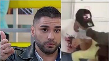 Cantor Leandro mostra-se a agredir mulheres e explica: 'Eu tive uma calma tão grande'