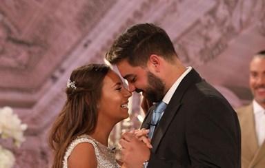 O casamento de Sara e Pedro em 'Dia de Cristina'