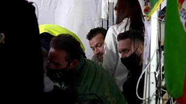 Em lágrimas! O momento em que Ljubomir Stanisic sente-se mal durante greve de fome