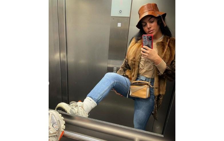 Georgina Rodríguez exibe mini-carteira de 1500 euros