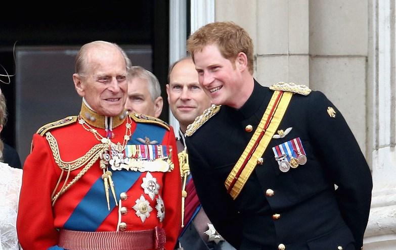 A forte ligação do príncipe Harry com o avô Philip