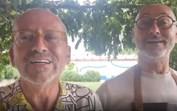 Goucha e o marido celebram 22 anos de relação com grande festa... para dois