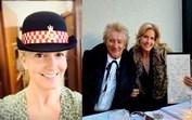 Mulher do cantor Rod Stewart torna-se polícia em Londres